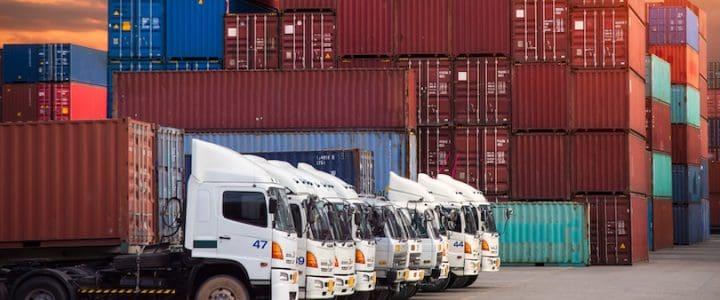 Ökning av containergods till Göteborgs hamn
